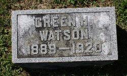Green H. Watson