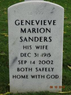Genevieve Marion <i>Hodge</i> Sanders