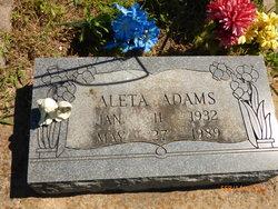 Aleta Adams