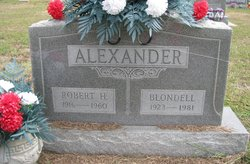 Blondell Emily <i>Easterwood</i> Alexander