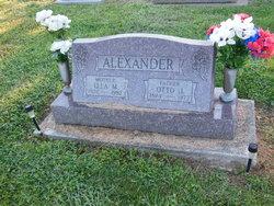 Ella Margaret <i>Logsdon</i> Alexander