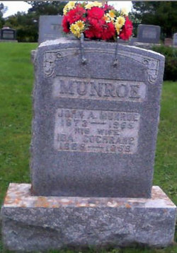 Ida Ethel <i>Cochrane</i> Munroe
