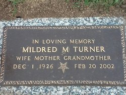 Mildred May <i>Hotham</i> Turner