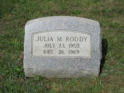Julia M. <i>Ellis</i> Roddy
