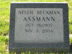 Nellie <i>Beckman</i> Assman