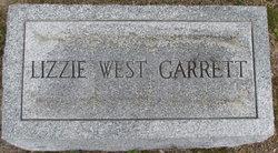 Lizzie <i>West</i> Garrett