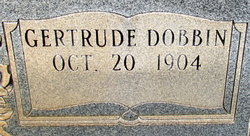 Gertrude <i>Dobbin</i> Baucom