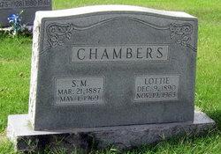 Lottie Virginia <i>Lamb</i> Chambers