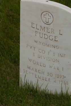 Pvt Elmer Leo Fudge