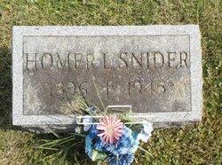 Homer L Snider