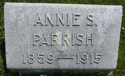Anna Spears Annie <i>Taylor</i> Parrish