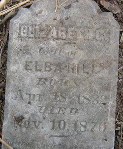 Elizabeth G <i>Munday</i> Hill