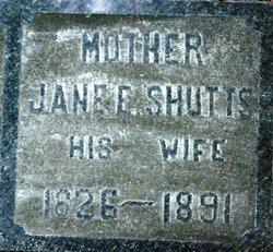 Jane Elizabeth <i>Shutts</i> Showerman