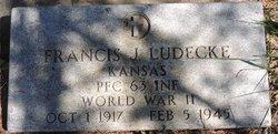 PFC Francis John Ludecke