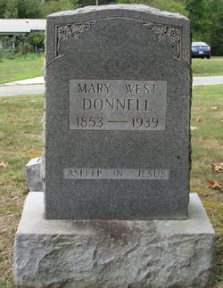 Mary Ann <i>West</i> Donnell