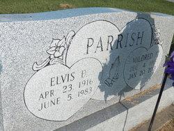 Mildred Faye <i>Burklow</i> Parrish