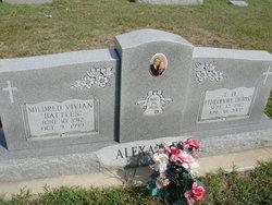 Mildred V. <i>Battles</i> Alexander