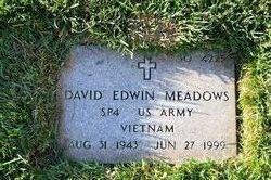 David Edwin Meadows