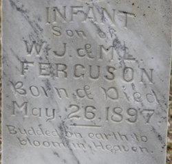 (infant son) Ferguson