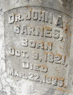 Dr John A Barnes