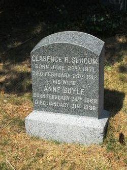 Anne Louise <i>Boyle</i> Slocum