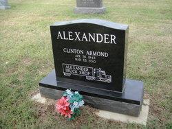 Clinton Armond Alexander