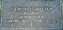 Harold Clifford Walkup