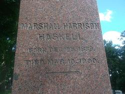 Marshall Harrison Haskell