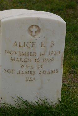 Alice E.B. Adams