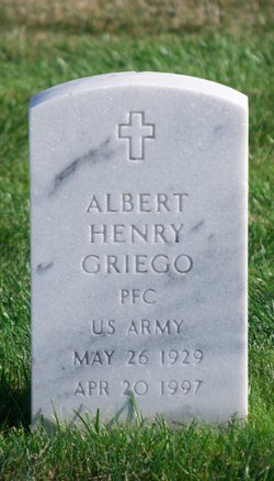 Albert Henry Griego