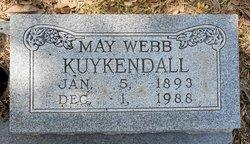 May <i>Webb</i> Kuykendall