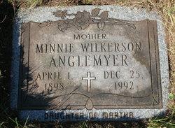 Minnie Elizabeth <i>Wilkerson</i> Anglemyer