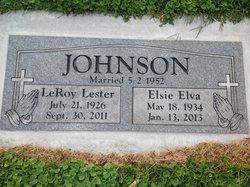 Elsie Elva <i>Goode</i> Johnson