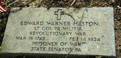 LTC Edward Warner Heston