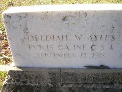 Obediah W. Ayers
