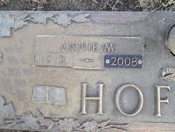 Annie Mae <i>Thompson</i> Hoffman