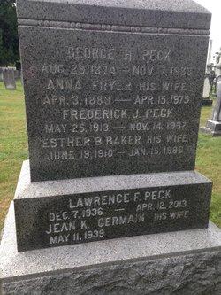 Esther Bertha <i>Baker</i> Peck