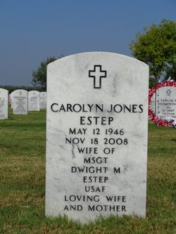 Carolyn <i>Jones</i> Estep