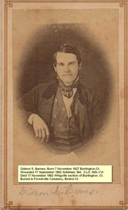 Gideon S Barnes