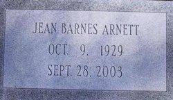 Jean <i>Barnes</i> Arnett