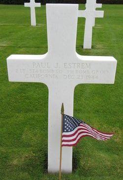 2Lt Paul J Estrem