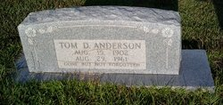 Tom D Anderson