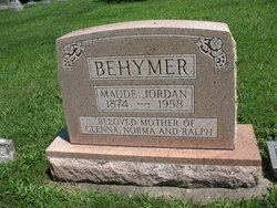 Della Maude <i>Jordan</i> Behymer