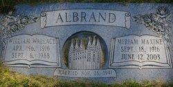 Miriam Maxine <i>Preece</i> Albrand