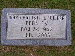 Mary Ardistine <i>Fowler</i> Beasley