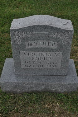 Martha Virginia <i>Meuth</i> Borup