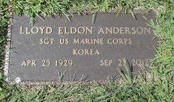 Lloyd Eldon Anderson