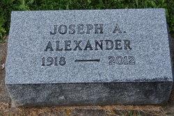 Joseph A Alexander