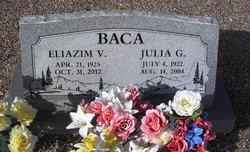 Julia G <i>Gonzales</i> Baca
