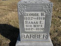 Sarah E. <i>Taylor</i> Barber